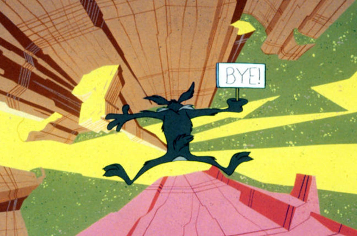 wile coyote cliff