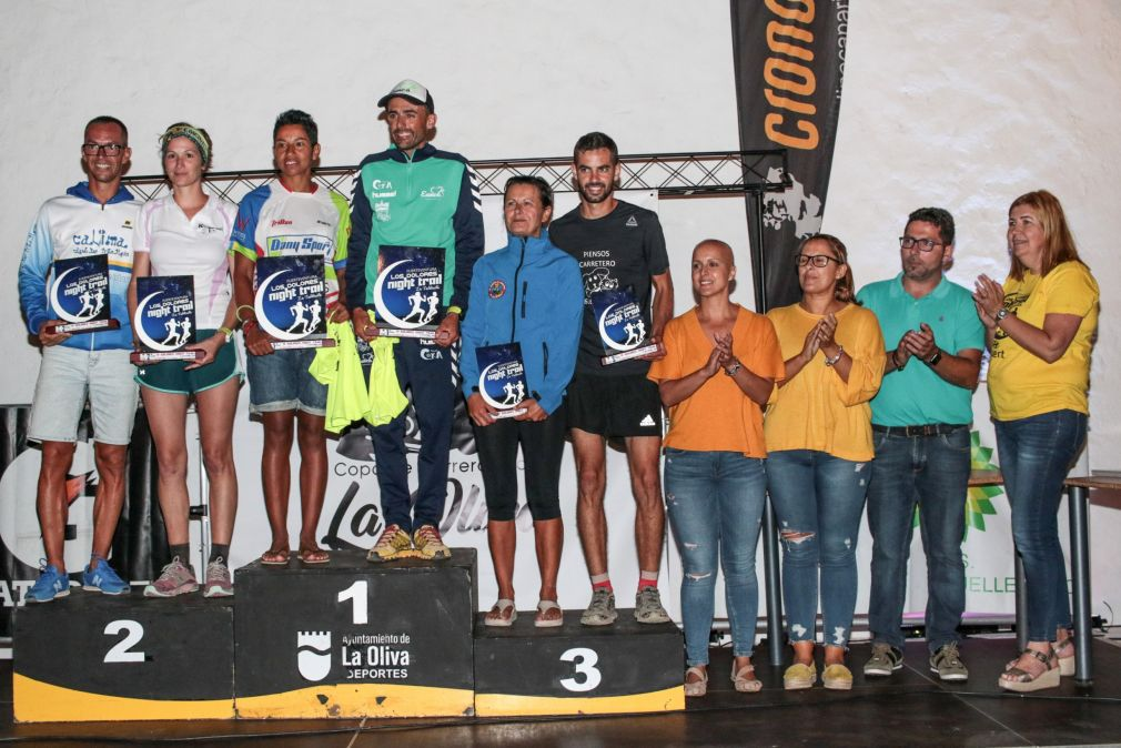 Los Dolores Night Trail 3ª Edición PODIO 17 KM